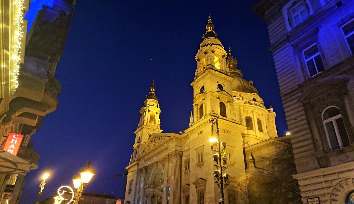 聖イシュトヴァーン大聖堂 ブダペスト