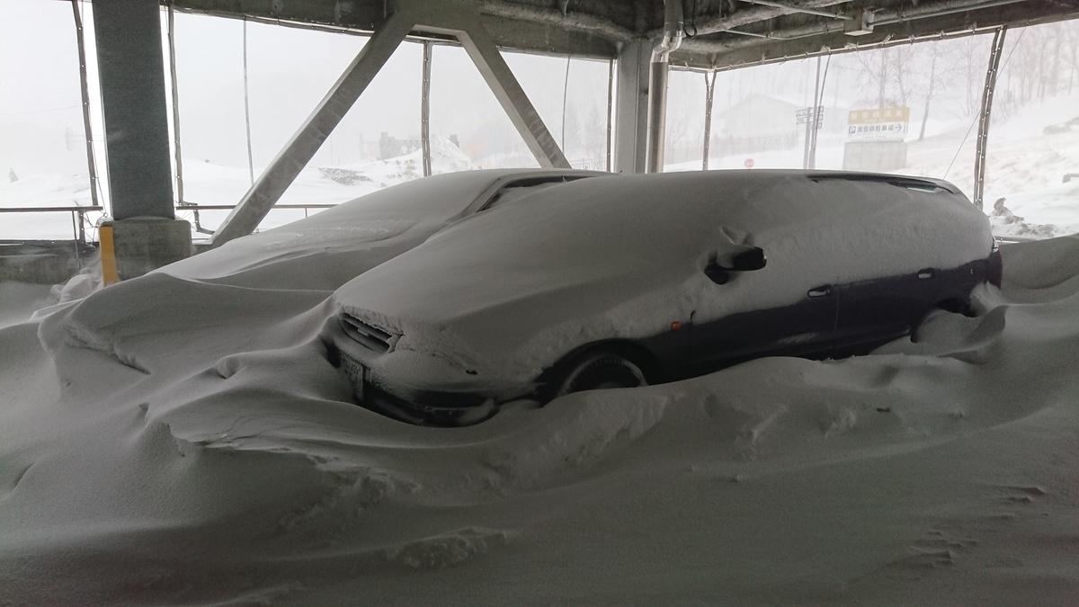 層雲峡温泉 公共駐車場