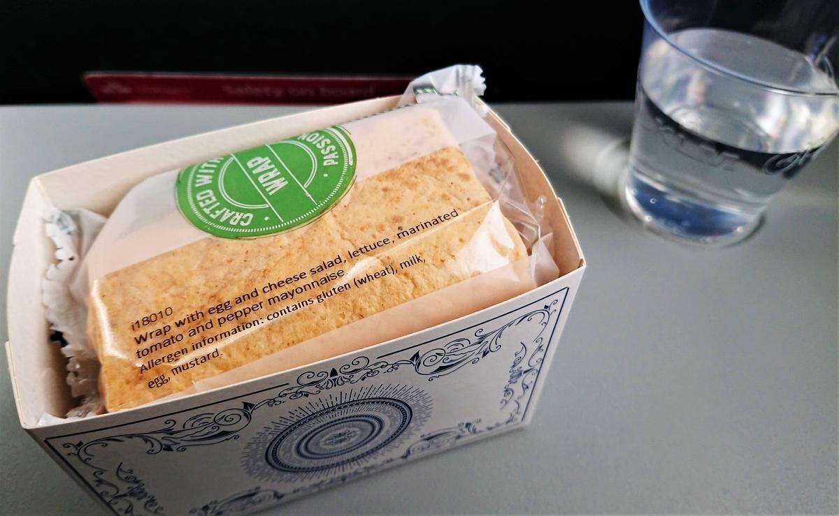 KLM 機内食