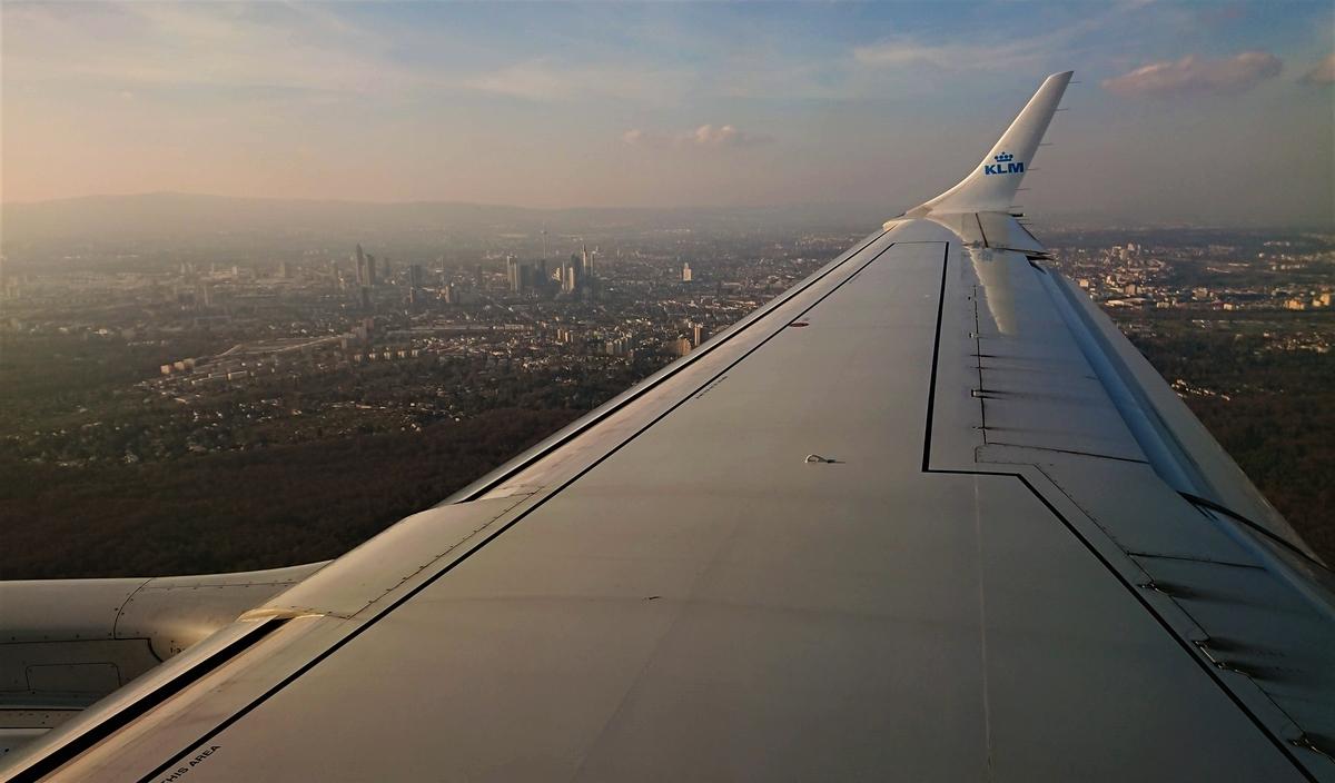 KLM フランクフルト