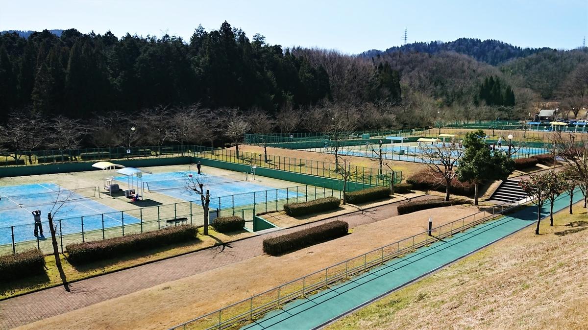 ふくい健康の森 テニスコート