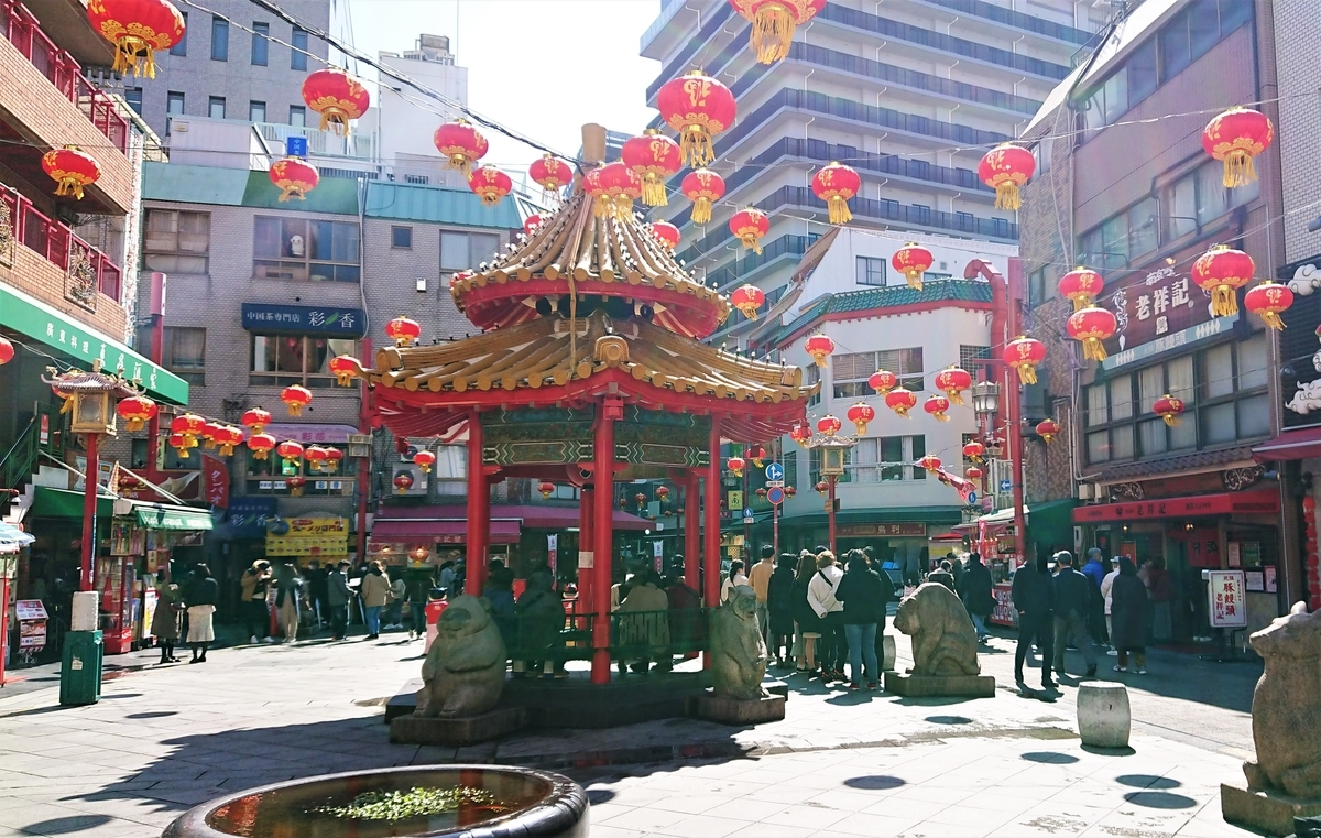神戸南京町広場