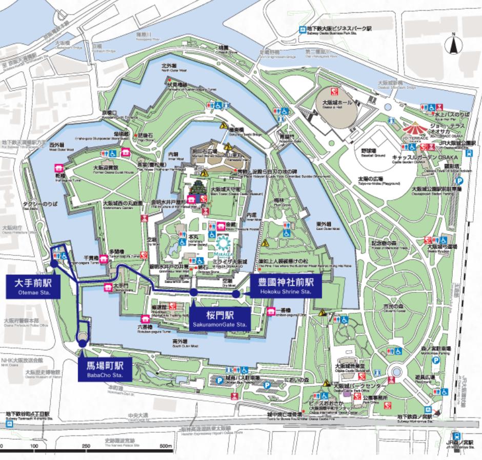 大阪城公園 エレクトリックカー