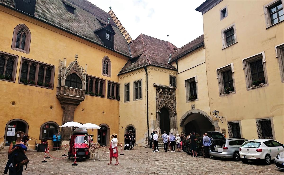 旧市庁舎 レーゲンスブルク