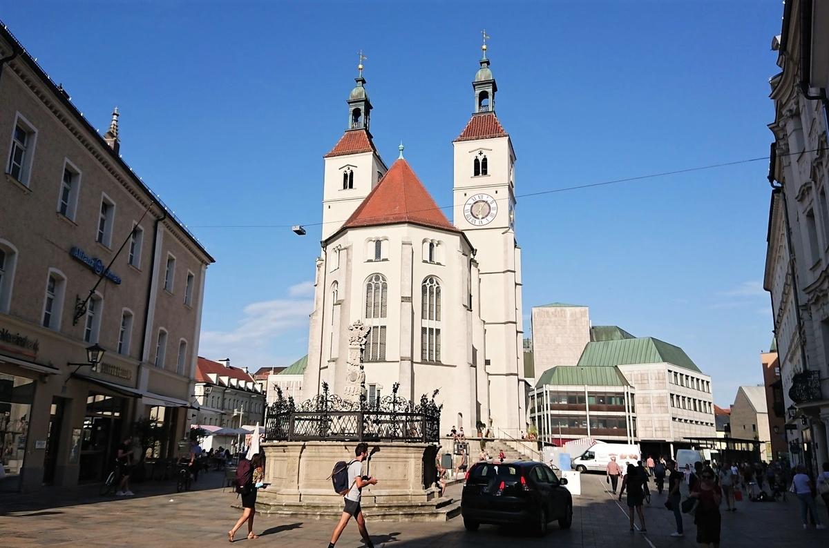 レーゲンスブルク Neupfarrkirche