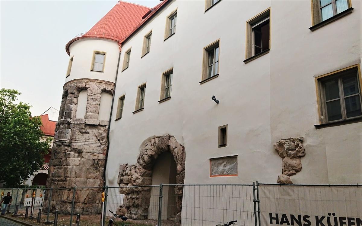 レーゲンスブルク Porta Praetoria