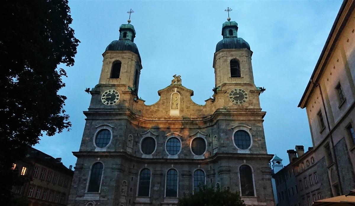 インスブルック 聖ヤコブ大聖堂