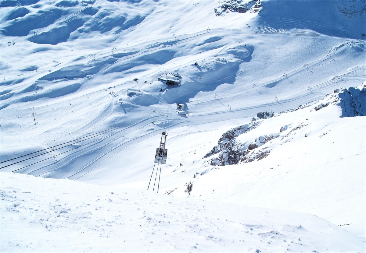 ツークシュピッツェ山頂