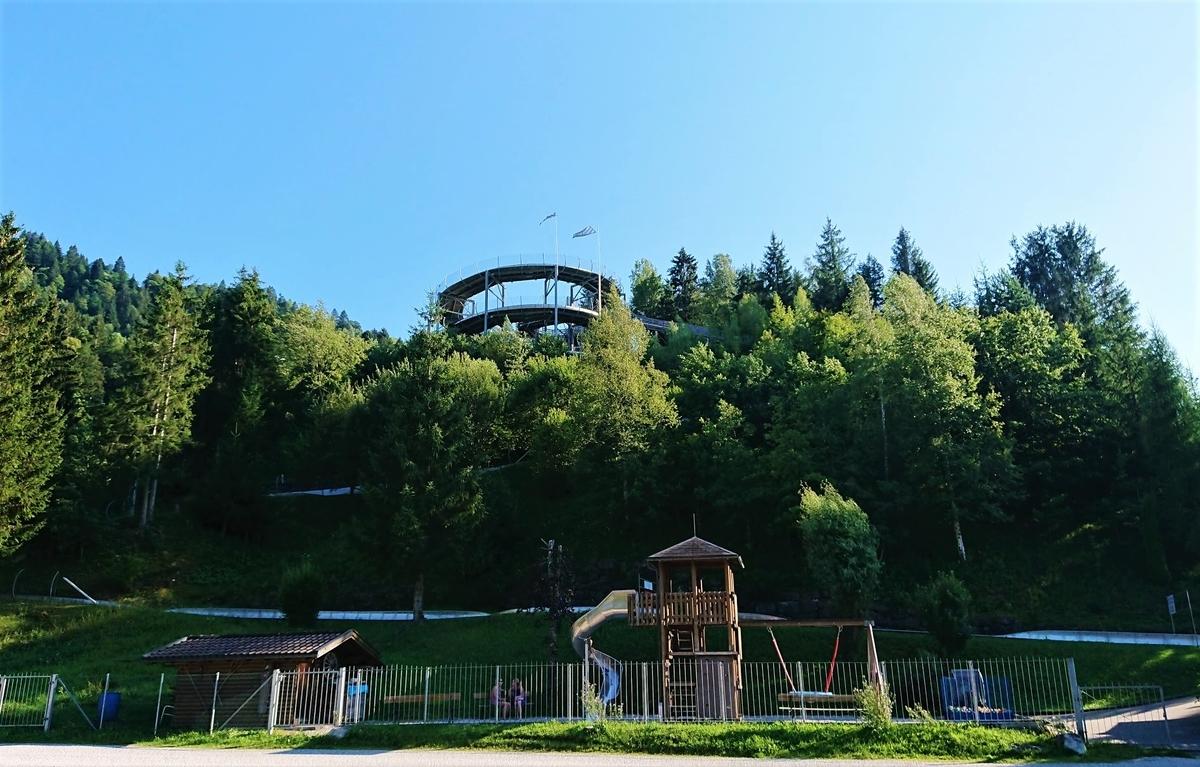 Simmerrodelbahn Garmisch・Partennkirchen