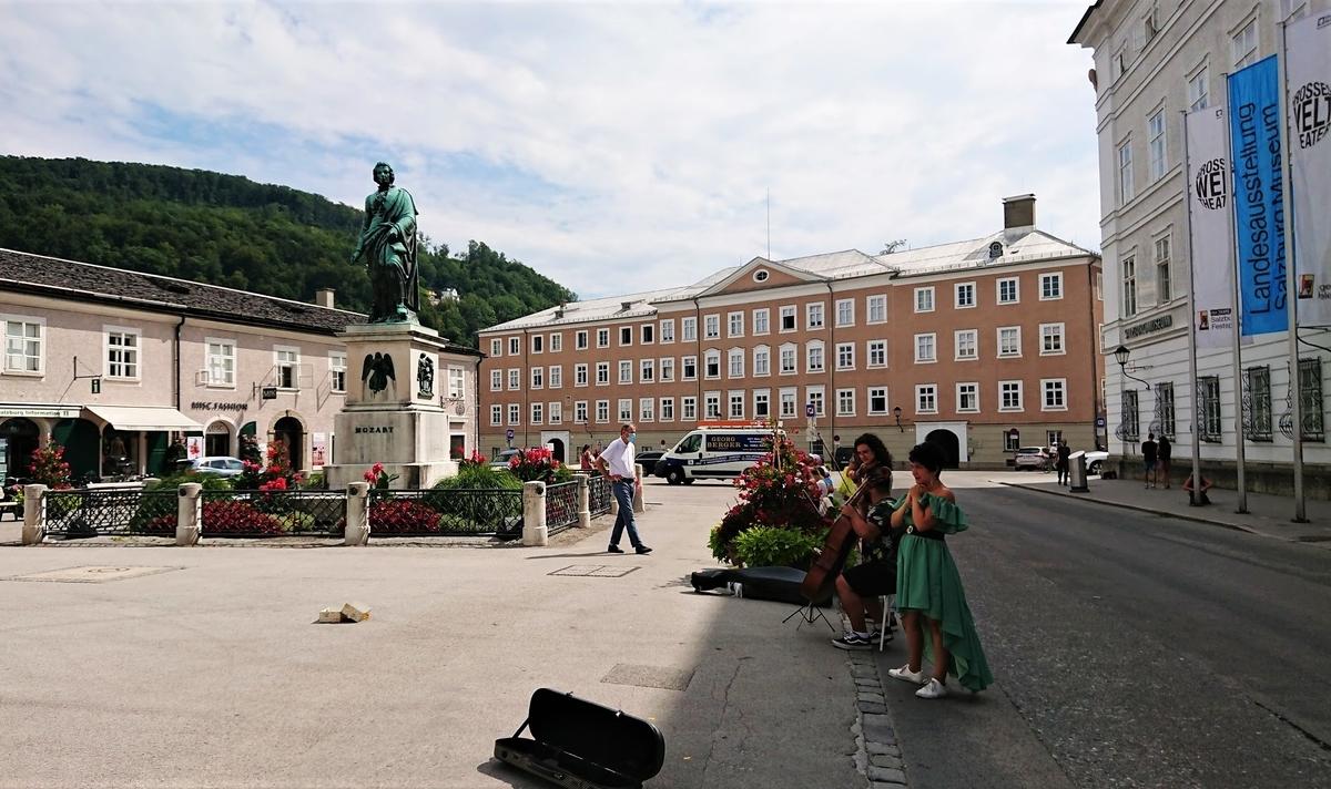 ザルツブルク モーツアルト広場