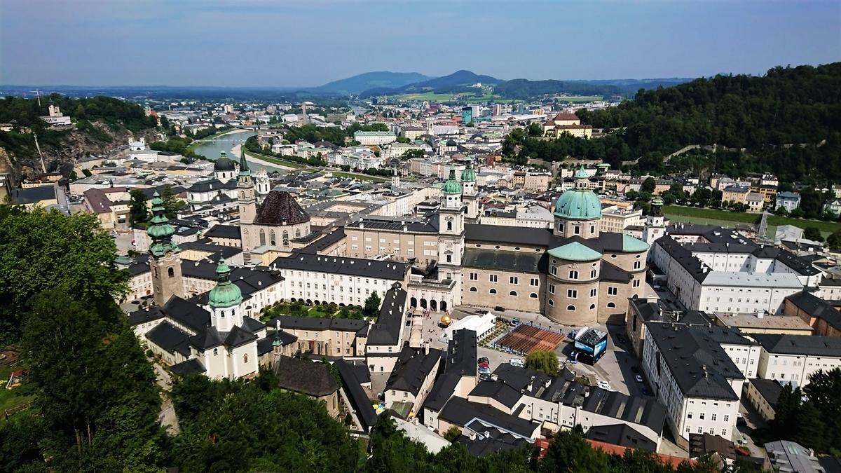 ホーエンザルツブルク城 ザルツブルク