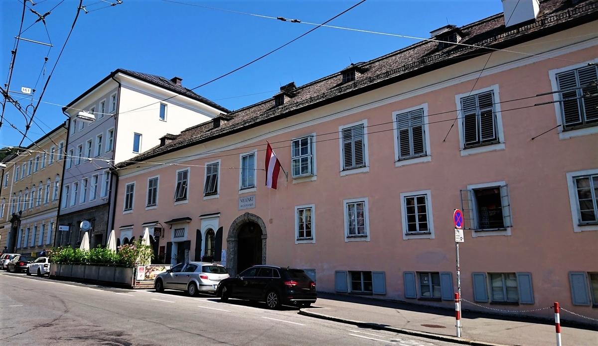 モーツァルトの家 ザルツブルク