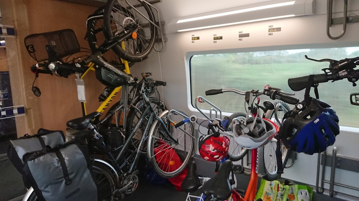ドイツ鉄道 自転車ピット