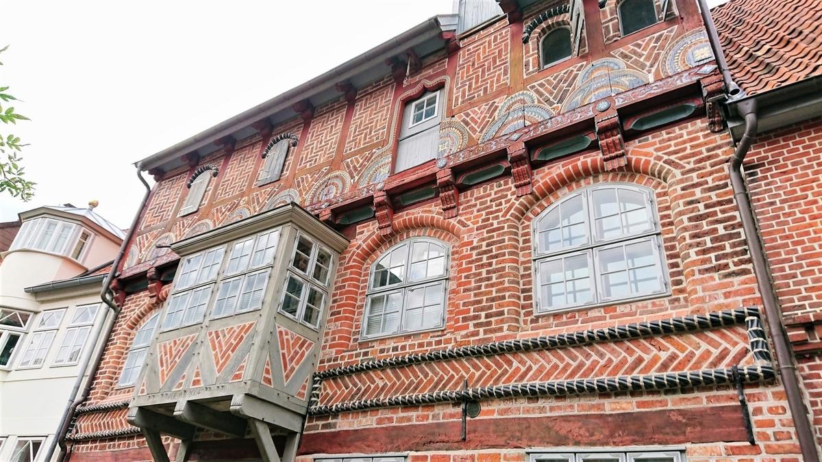 flügelbau eines ehemaligen brauhauses Lüneburg