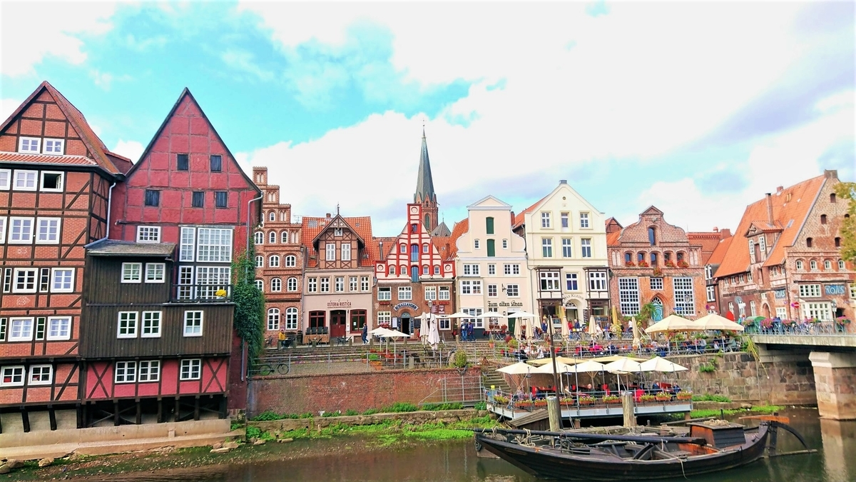 Alter Kran im Lüneburger Hafen