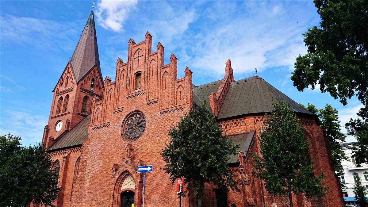 Kirchenplatz ヴァーネミュンデ