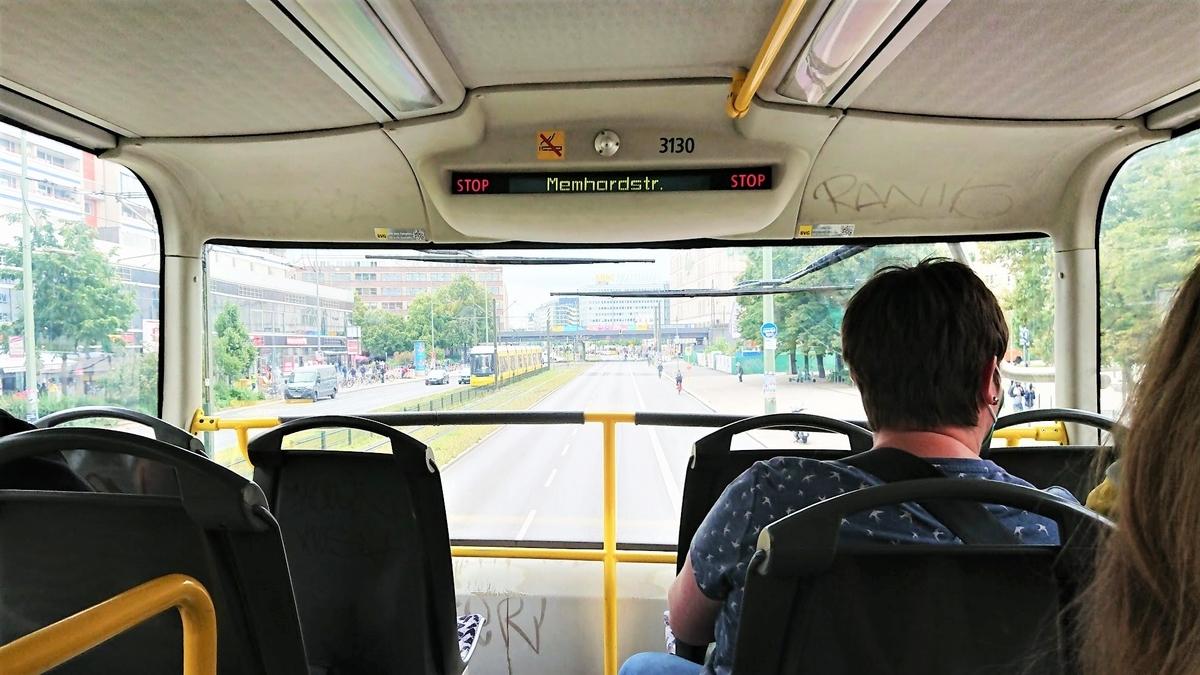 ベルリン 二階建てバス