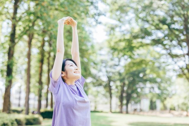 適度な運動で健康を