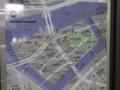 天王洲アイル。モノレールと空中回廊とウォーターフロントの高層ビル