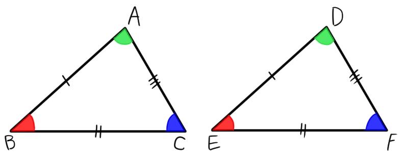 合同 条件 の 三角形