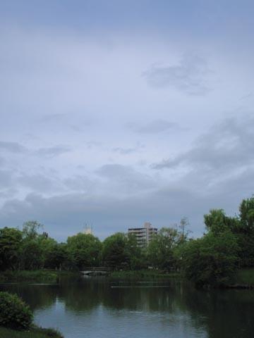 中島公園にて