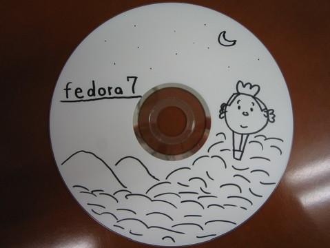 Fedora 7 with サザエさん