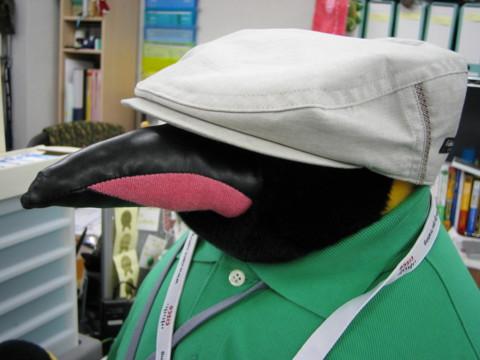 組長の帽子