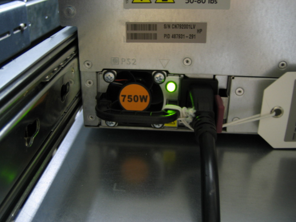 ML350G6:電源ユニット