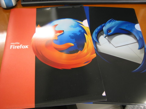 Firefox・Thunderbiedクリアファイル