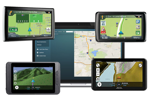 How does Updated Magellan GPS device help?