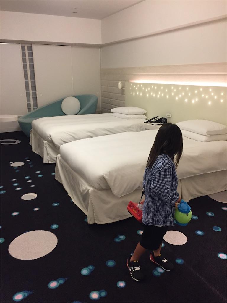 東京ディズニーリゾートオフィシャルホテル「ヒルトン東京ベイ」に泊まっ
