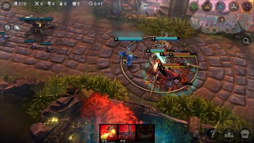 ゲームアプリvainglory