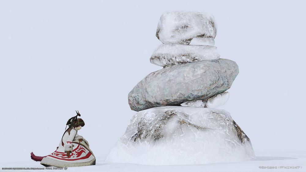 過去にオススメミラプリコーデで紹介した冬服コーデ。(FF14)