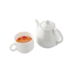エオルゼアカフェのドリンクメニューの一つ「タタル特製薬茶」。(FF14)