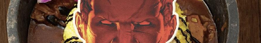 エオルゼアカフェの新メニュー「アラミゴの猛牛丼」。(FF14)