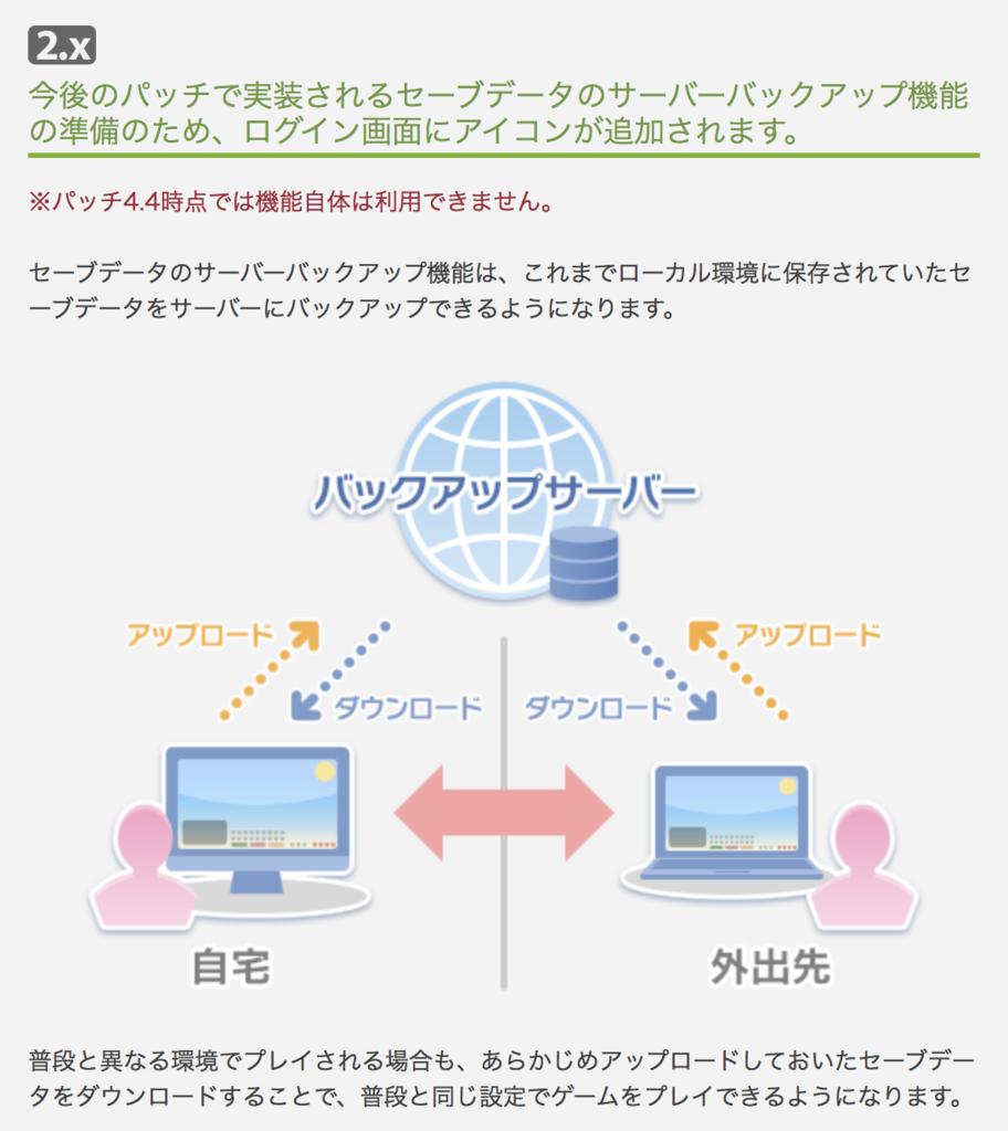 パッチノート4.4に記載されているアップデート情報の抜粋画像。(FF14)
