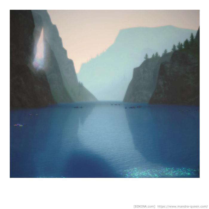 風景をスナップ写真風に撮影したSS。(FF14)