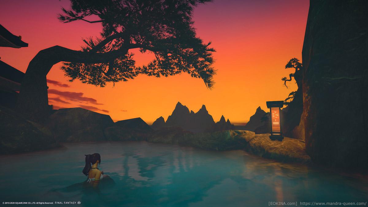 日がさらに沈んでくるとまた独特の雰囲気を楽しむことが出来る。