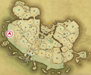 画像「魅力は意外な場所にも眠っている」の撮影場所と方向を表したマップ。