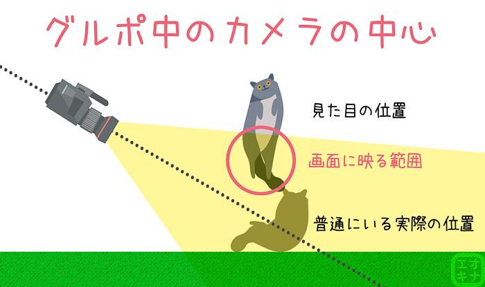 グルポ中のカメラの動きの図説