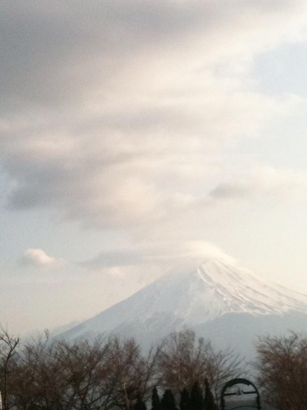 富士山とりおさめ