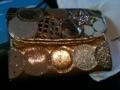 これこないだ購入したキラキラお財布。お金貯まりそう!