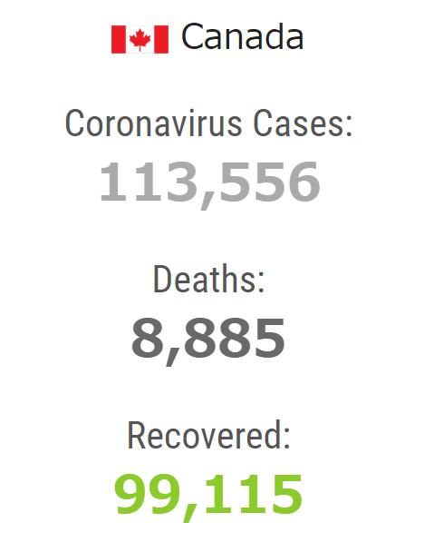 カナダ コロナウィルス