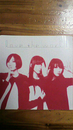 perfume 「love the world」(初回限定盤)