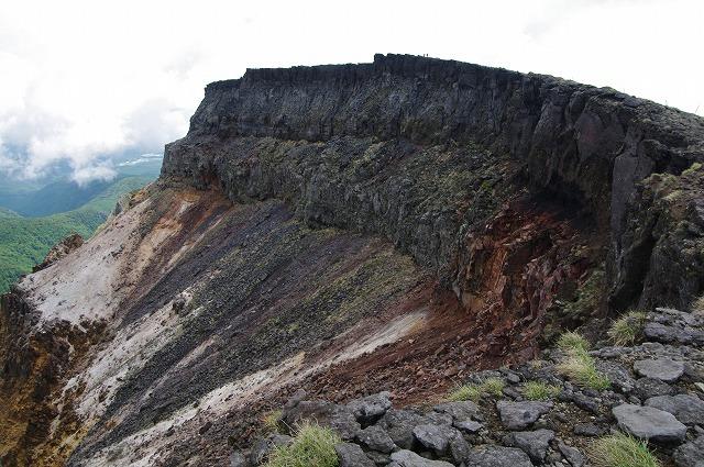 硫黄岳爆裂火口