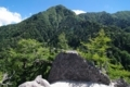 離山より地蔵岳方面