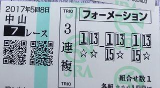 中山7R-3連複