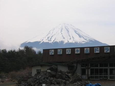 路上から富士山