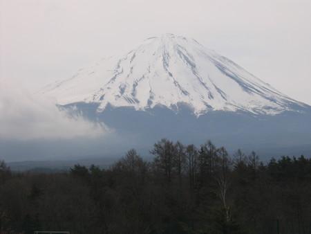 道の駅から富士山