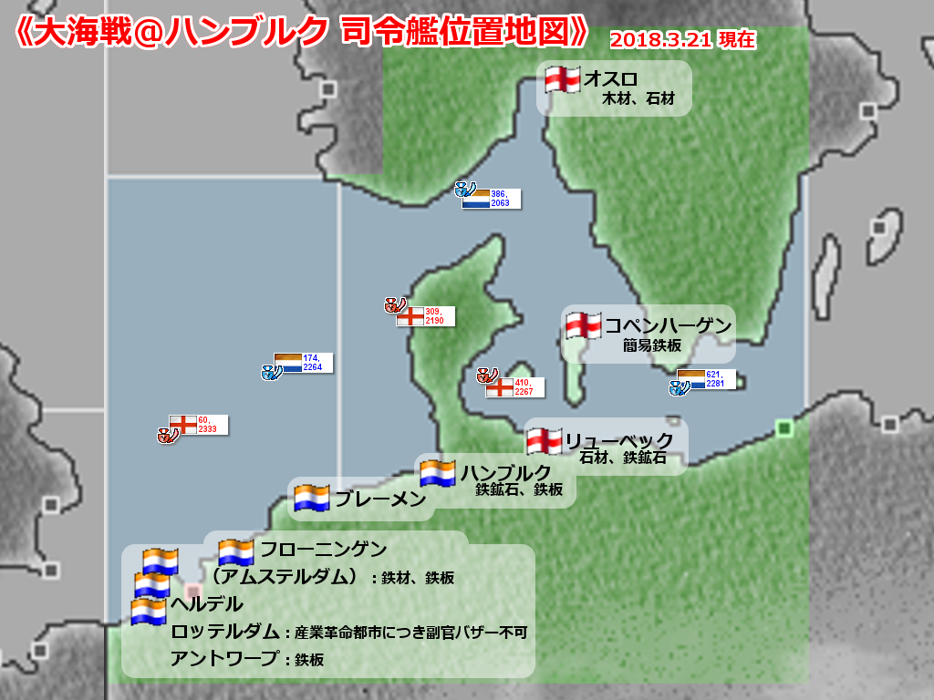 2018年3月 ハンブルク大海戦